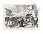 The Ashantee War: Women Leaving Cape Coast Castle with Provisions for the Troops 1874 by Anonymous