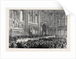 Luncheon Given by the Lord Mayor to the Prince of Wales at Guildhall 1874 by Anonymous