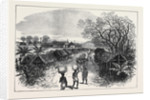 The Ashantee War: Inquabim the First Station on the Road to the Prah 1874 by Anonymous
