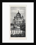 Moscow: The Church of the Saviour Russia 1874 by Anonymous