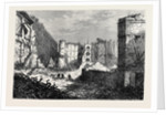 Ruins of the Belgrave Pantechnicon London 1874 by Anonymous