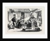 The Ashantee War: Naval Brigade Men Breakfasting in the Courtyard of an Ashantee House 1874 by Anonymous