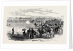 The Gun Club Competing for the Challenge Vase at Shepherd's Bush London UK 1867 by Anonymous
