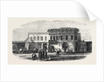 Palace at Alexandria to Be Used As the Office for the Transit of British Troops Egypt 1867 by Anonymous
