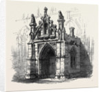 Bury St. Edmunds: Porch of St. Mary's Church 1867 by Anonymous