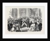 Reception of the Viceroy of Egypt by the Lord Mayor at the Mansion House London UK 1867 by Anonymous