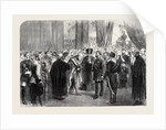 Reception of the Sultan at Guildhall London UK 1867 by Anonymous