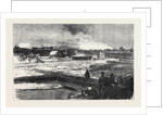 The Naval Review: Gun Boat Attack on Southsea Castle 1867 by Anonymous