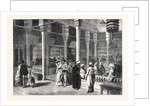 Interior of the Egyptian Okel in the Park of the Paris Exhibition France 1867 by Anonymous