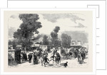 Agricultural Show at Cheltenham UK 1867 by Anonymous