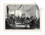 The Broadmoor Criminal Lunatic Asylum: Day-Room for Male Patients UK 1867 by Anonymous