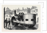 Steamroller for the Streets of Liverpool UK 1867 by Anonymous