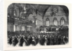 Opening of the New Townhall at Preston by H.R.H. The Duke of Cambridge 1867 by Anonymous
