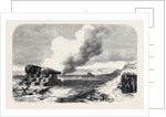 Experiments with the Mackay Gun at Crosby Sands Near Liverpool UK 1867 by Anonymous