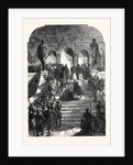The Execution Scene from the Doge of Venice at Drury Lane Theatre London UK 1867 by Anonymous