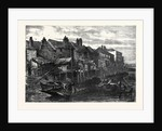 Old Houses at Lambeth Demolished for the Southern Embankment of the Thames London UK 1867 by Anonymous