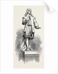 Statue of Andrew Marvell in the New Townhall Kingston-on-Hull UK 1867 by Anonymous