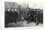 Presentation of Colours to the 4th Tower Hamlets Volunteer Corps London UK 1867 by Anonymous