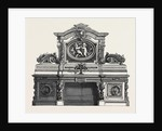 The Paris International Exhibition: Pollard-Oak Sideboard, France 1867 by Anonymous