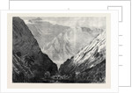 The Abyssinian Expedition: Tubboo the Fourth Halting Place in the Tekonda Pass 1867 by Anonymous