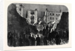 Effects of the Explosion at the House of Detention Clerkenwell Seen from Within the Prison Yard: Searching the Ruins 1867 by Anonymous