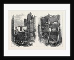 Effects of the Explosion at Clerkenwell: Interiors of Houses in Corporation Lane London UK 1867 by Anonymous