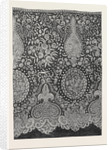 Honiton Lace Flounce, Regent Street London, the International Exhibition 1862, G.F. Urling by Anonymous