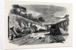 Scene of the Recent Railway Accident at Winchburgh on the Edinburgh and Glasgow Railway 25 October 1862 by Anonymous