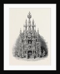 The International Exhibition: Temple of Art in Vegetable Ivory, 1862 by Anonymous