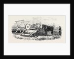 The International Exhibition: Croskill's Bell's Reaping Machine 1862 by Anonymous