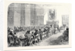 The Cotton Famine: Meeting of the Central Relief Committee in the Mayor's Parlour at the Manchester Townhall Earl of Derby in the Chair 1862 by Anonymous