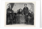The Bishops of the Five Dioceses of the United Church of England and Ireland in Canada 1862 by Anonymous