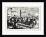 The Cotton Famine: School for Mill Operatives at Mr. Stirling's Mill Lower Mosley-Street Manchester 1862 by Anonymous
