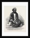 Indian Rebel Zahoor-Ool-Hoosein Recently Captured 1862 by Anonymous