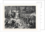 Nero after the Burning of Rome, in the Late International Exhibition 1862 by Anonymous