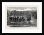 Her Majesty the Queen Planting the Prince Consort's Oak in Windsor Great Park 1862 by Anonymous
