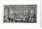 The Cotton Famine: Working Men's Dining Hall Gaythorn Cooking Depot Manchester 1862 by Anonymous