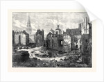 Demolition of Hungerford Market: View Looking Towards the Strand 1862 by Anonymous
