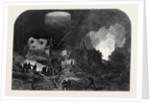 Scene of the Extraordinary Accident in the Welwyn Tunnel Great Northern Railway 1866 by Anonymous