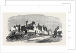 The Great Fire at Ottery St. Mary Devonshire: Ruins of Yonder Street and Jehu Street UK 1866 by Anonymous