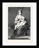 Mary with the Child Jesus, in the Dresden Gallery Germany 1866 by Anonymous