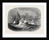 First Class Cutter Match of the Royal Thames Yacht Club: The Vindex and Christabel in Sea Reach 1866 by Anonymous