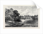 Titness Park Sunningdale Berkshire the Residence of the Prince and Princess of Wales Ascot Race Week UK 1866 by Anonymous