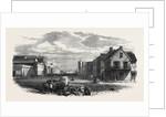 The Main Street of Port Elizabeth Algoa Bay Cape Colony 1866 by Anonymous