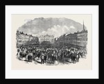 Nottingham Election: The Hustings in the Marketplace UK 1866 by Anonymous
