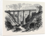 The Daff Viaduct of the Greenock and Wemyss Bay Railway 1866 by Anonymous