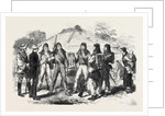 Japanese Soldiers in European Costume at Yokohama Japan 1866 by Anonymous