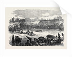 Civil Service Athletic Sports at Beaufort House Walham Green 1866 by Anonymous