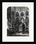 Chapel and Shrine of Edward the Confessor Westminster Abbey London UK 1866 by Anonymous