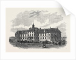 The Royal Surrey County Hospital UK 1866 by Anonymous